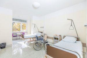 Patientenmusterzimmer